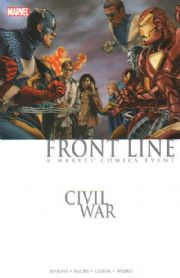 Civil War Frontline Trade Paperback TPB 01